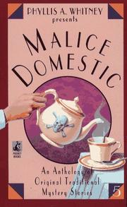 Cover of: Malice Domestic 5 (Malice Domestic , No 5)