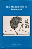 Cover of: The monuments of Senenmut