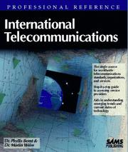 Cover of: International telecommunications