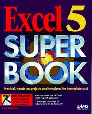 Cover of: Excel 5 super book | Paul McFedries