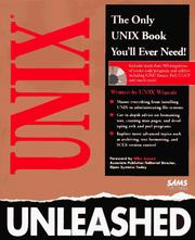 Cover of: UNIX unleashed |