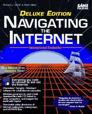 Cover of: Navigating the internet | Smith, Richard J.