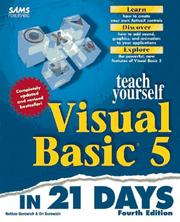 Cover of: Teach yourself Visual Basic 5 in 21 days