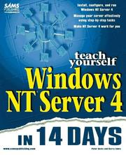 Cover of: Teach yourself Windows NT Server 4 in 14 days
