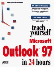 Cover of: Teach yourself Outlook in 24 hours | Kim Spilker
