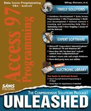 Cover of: Access 97 programming unleashed