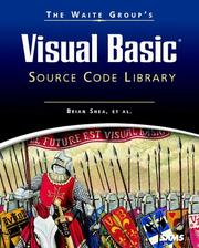 Cover of: Waite Group's Visual Basic Source Code Library
