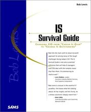 Cover of: Bob Lewis's IS survival guide | Lewis, Bob