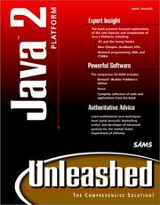 Cover of: Java 2 Platform Unleashed