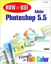 Cover of: How to use Adobe Photoshop 5.5
