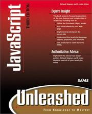 Cover of: JavaScript unleashed |