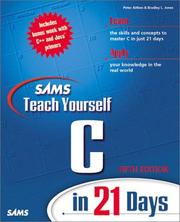 Cover of: Sams teach yourself C in 21 days