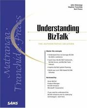 Cover of: Understanding BizTalk