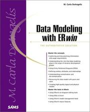 Cover of: Data Modeling with ERwin | Carla DeAngelis