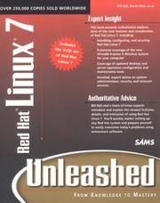 Cover of: Red Hat Linux 7 Unleashed | Bill Ball