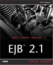 EJB 2.1 kick start by Peter Thaggard