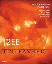 Cover of: J2EE Unleashed | Mark Ashnault