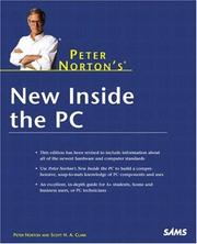 Cover of: Peter Norton's New Inside the PC
