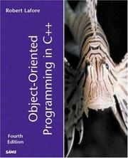 Cover of: Object-Oriented Programming in C++