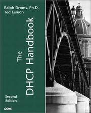 Cover of: The DHCP handbook