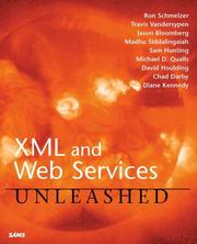 Cover of: XML and Web Services Unleashed | Ron Schmelzer