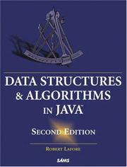 Cover of: Data structures & algorithms in Java by Robert Lafore