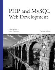Cover of: PHP and MySQL Web Development, Second Edition | Luke Welling, Laura Thomson