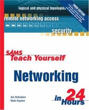 Cover of: Sams teach yourself networking in 24 hours