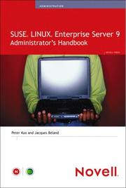 Cover of: SUSE LINUX Enterprise Server 9 Administrator