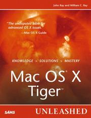 Cover of: Mac OS X Tiger Unleashed | John Ray