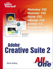 Cover of: Adobe Creative Suite 2 | Mordy Golding