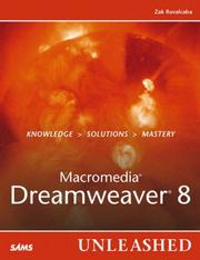 Macromedia Dreamweaver 8 unleashed by Zak Ruvalcaba