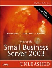 Cover of: Microsoft Small Business Server 2003 Unleashed | Eriq Neale