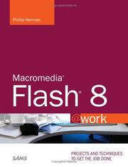 Cover of: Macromedia Flash 8 @work | Phillip Kerman