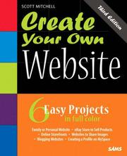 Cover of: Create Your Own Website
