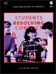 Cover of: Students Resolving Conflicts