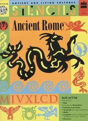Cover of: Ancient Rome Stencils (Ancient and Living Cultures Series)