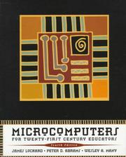 Cover of: Microcomputers for twenty-first century educators