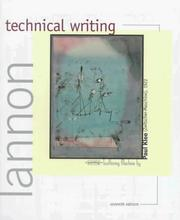 Technical writing by John M. Lannon