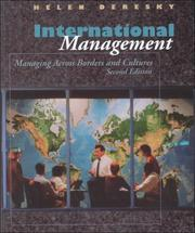 International Management by Helen Deresky