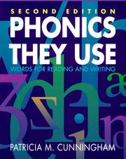 Phonics they use by Patricia Marr Cunningham
