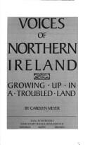 Cover of: Voices of Northern Ireland: Growing Up in a Troubled Land