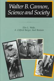 Cover of: Walter B. Cannon, science and society