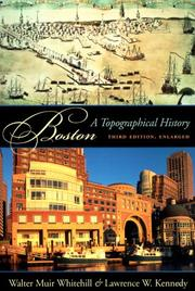 Cover of: Boston by Walter Muir Whitehill