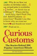 Cover of: Curious customs
