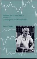 Essays in economics by Tobin, James