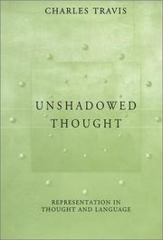 Cover of: Unshadowed Thought