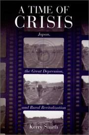 Cover of: A Time of Crisis | Kerry Smith