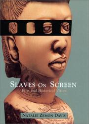 Cover of: Slaves on screen: film and historical vision