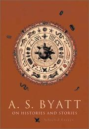 Cover of: On histories and stories: selected essays